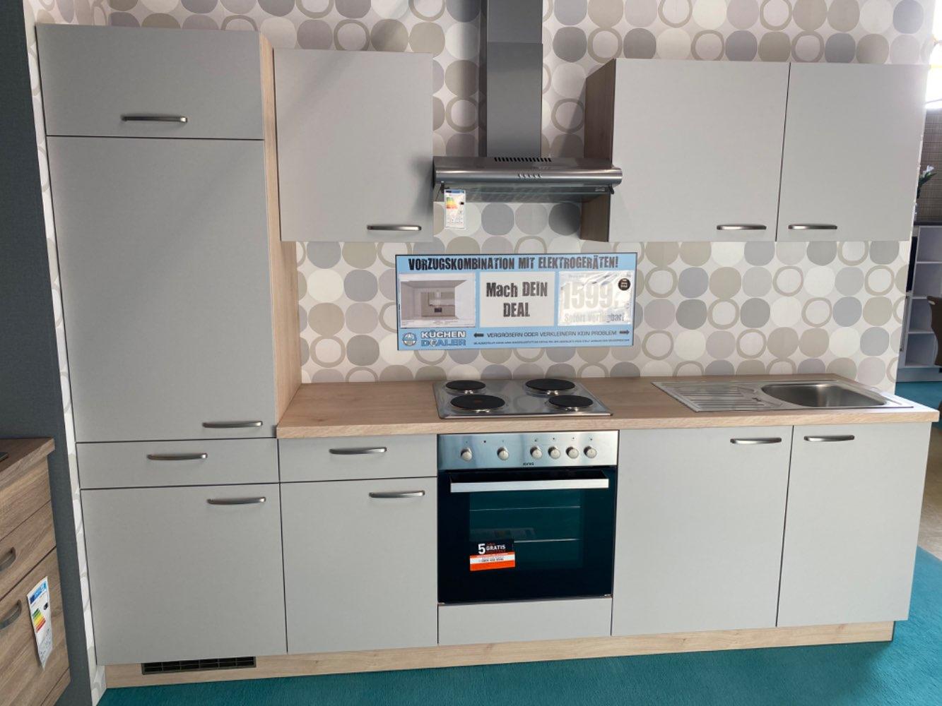 Einbauküche / Küche mit E-Geräten Top Deal Koje 23b