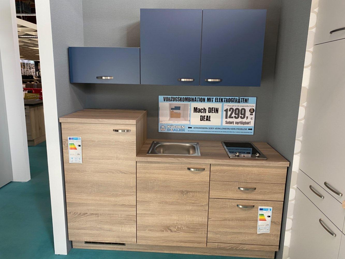Einbauküche / Küche mit E-Geräten Top Deal Koje 23a