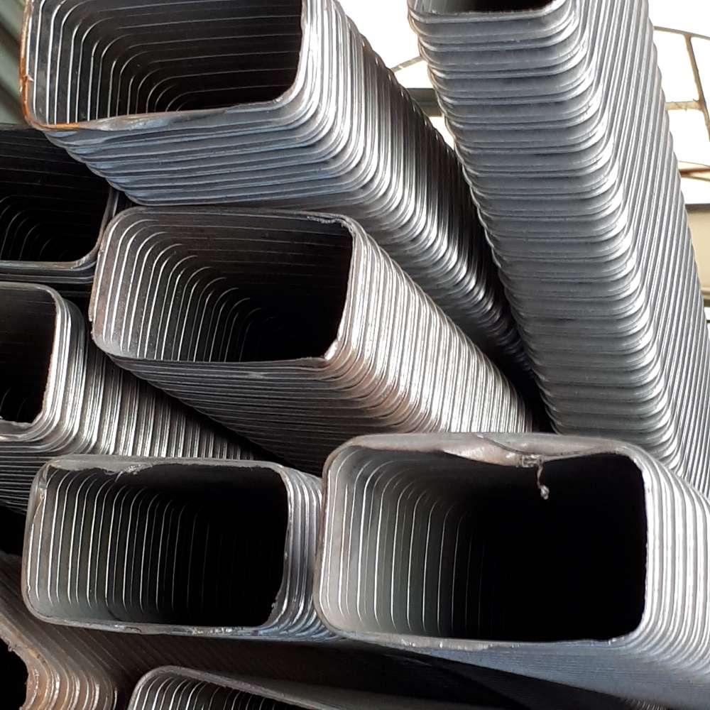 Blech-Vierkantrohr 120x70mm