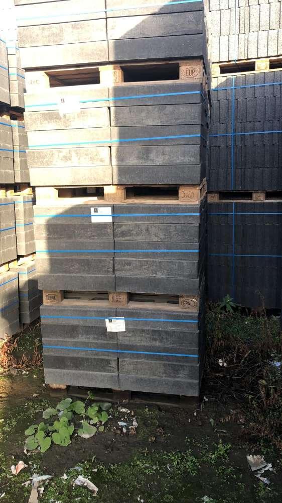 Elegantline Mauer schiefergrau/anthrazit nuanciert 60x30x12,5 cm (2.Wahl)