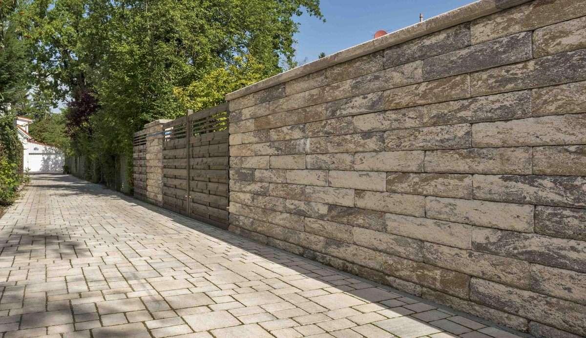 Vermont Grande Mauersteine Muschelkalk 75×37,5×15 cm ( Restposten )