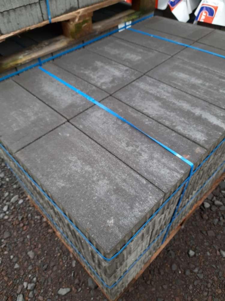 JASTO Trendline Pflaster 40x20x8 cm anthrazit-nuanciert (2.Wahl)