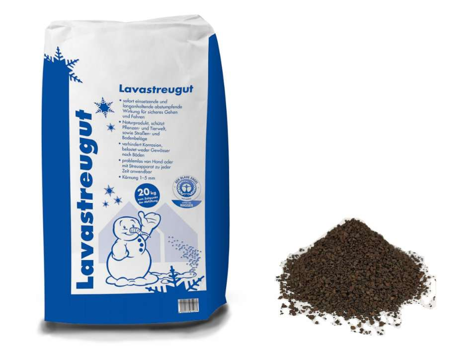 Lavastreugut 20kg – tierfreundliche Streusalz Alternative