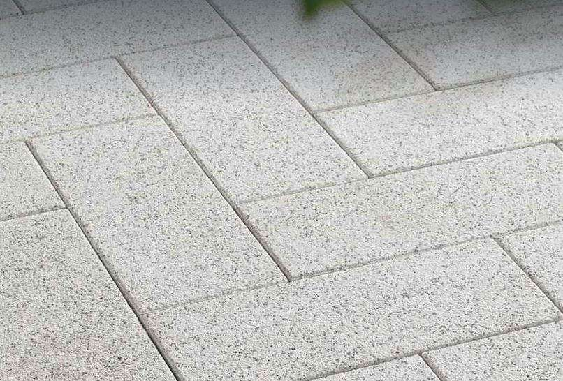 Dallas Terrassenplatten 60x25x5 cm weiß gestrahlt (2.Wahl)