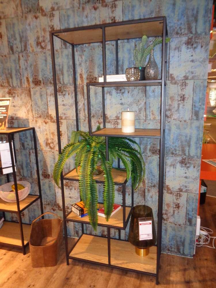 NEU ab Lager: Bücherregal in Wildeiche Nachbildung