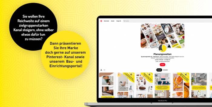 Planungswelten Pinterest-Awareness-Kampagne
