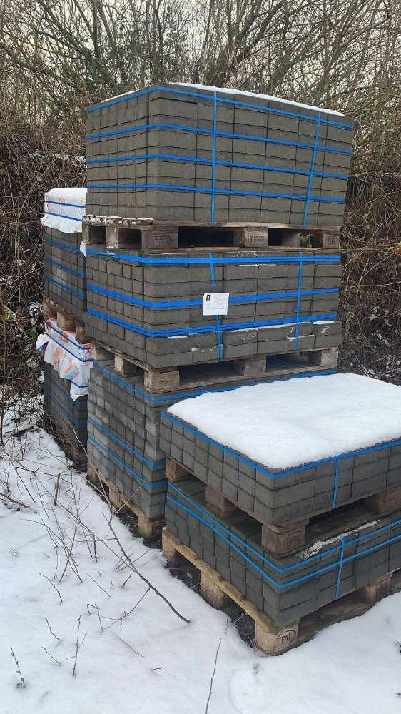 Jasto Rechteckpflaster 20x10x6 cm Anthrazit (2.Wahl)