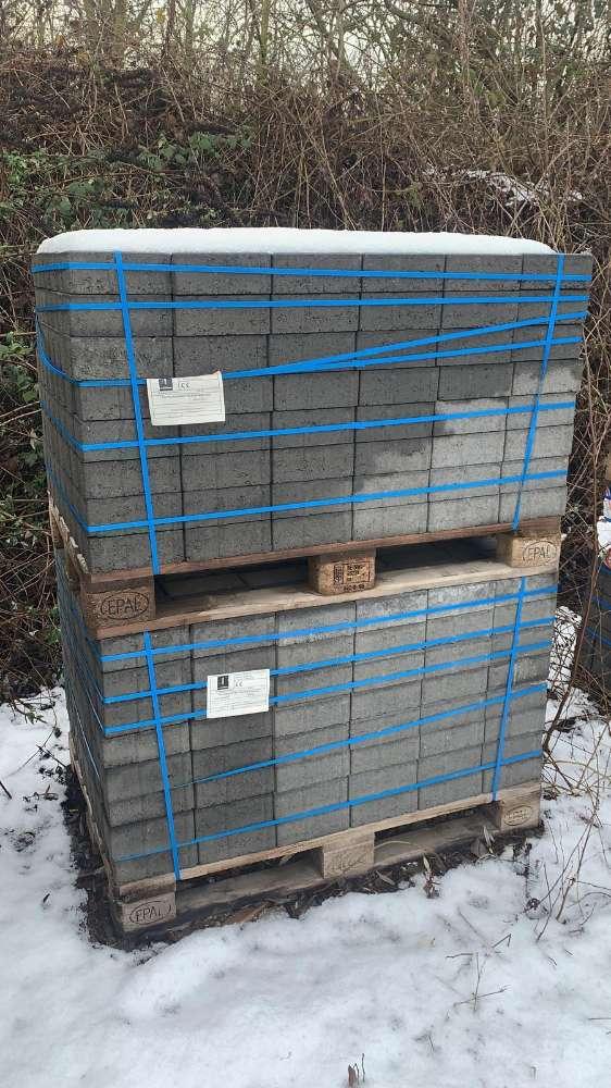 Jasto Rechteckpflaster 20x10x8 cm Anthrazit (2.Wahl)
