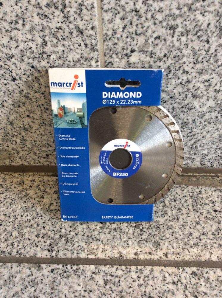 Diamanttrennscheibe 125 mm
