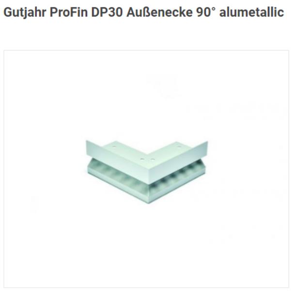 ProFin DP30 AE 90° alumetallic Außenecke