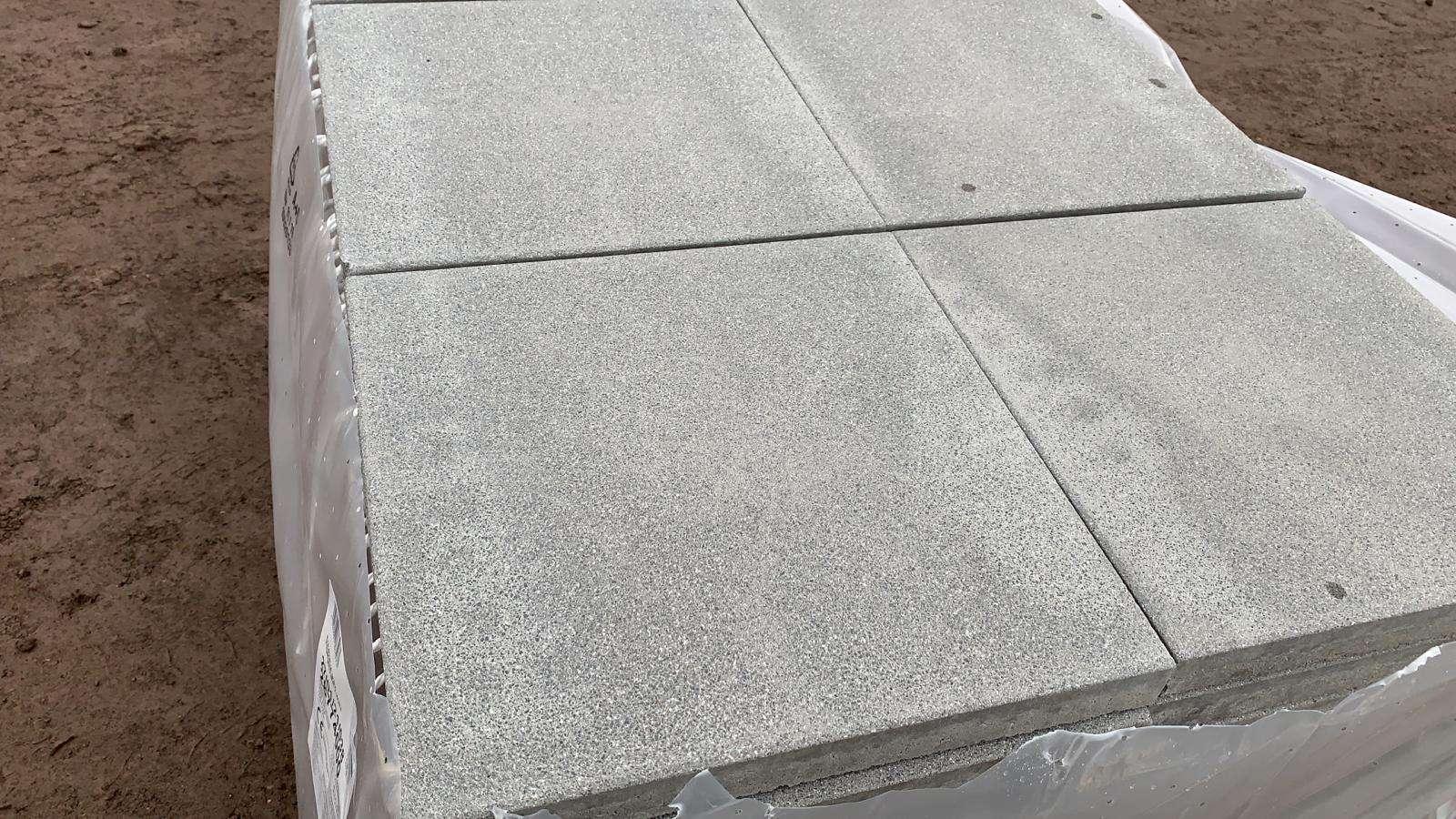 Era Platten 40x40x4 cm Grau Kugelgestrahlt (2.Wahl )