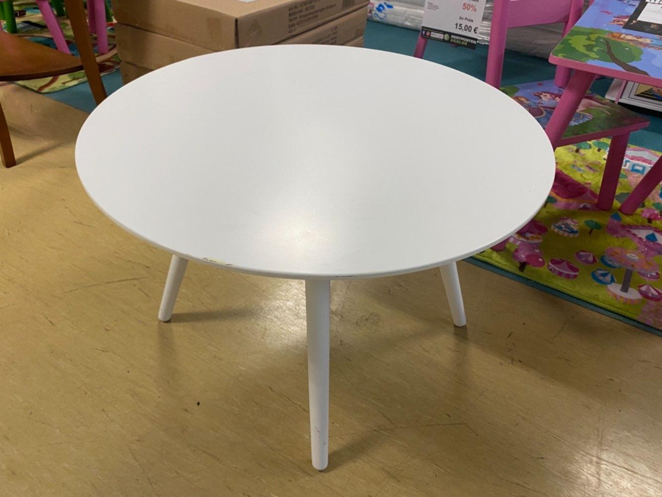 (MG) Beistelltisch / Tisch / Couchtisch Birke weiß statt 59€