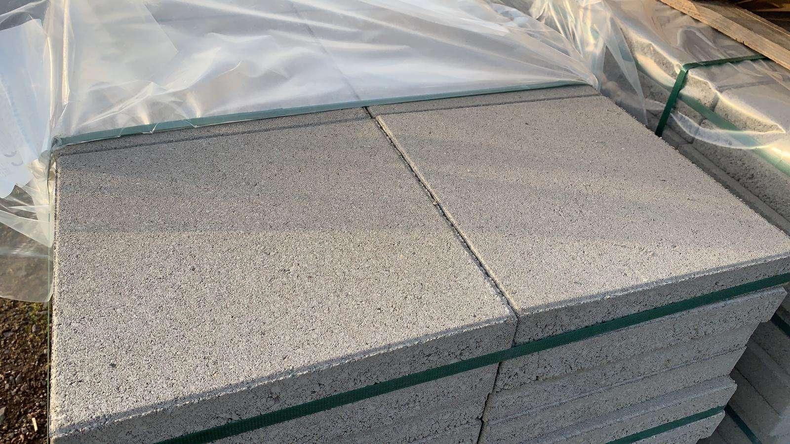 KANN Gehwegplatten 30x30x4 cm grau (2.Wahl)