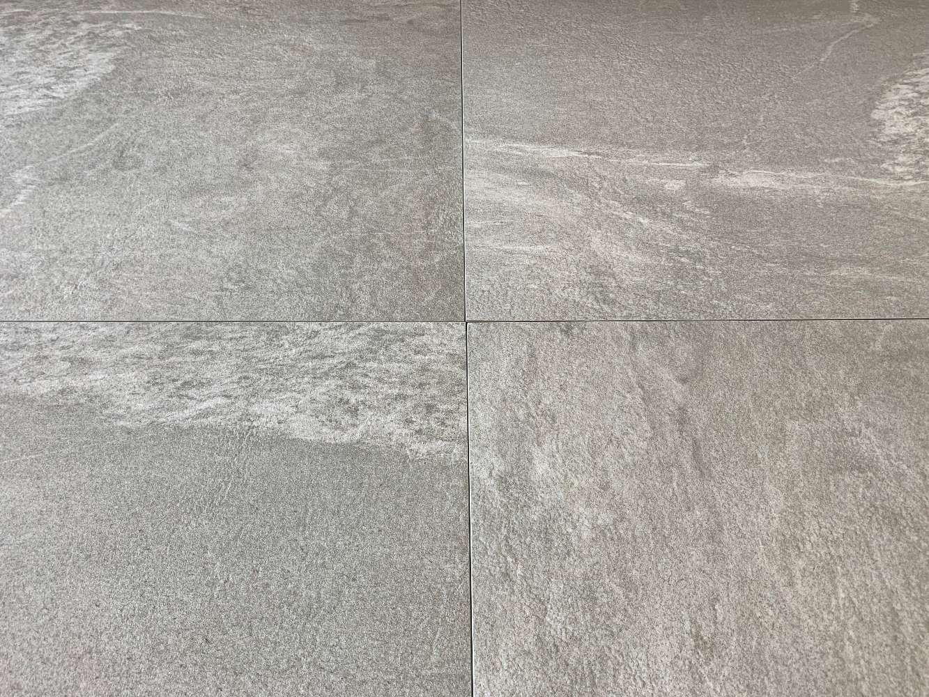 Terrassenplatten Feinsteinzeug 60x60x2cm, Kapstadt grau