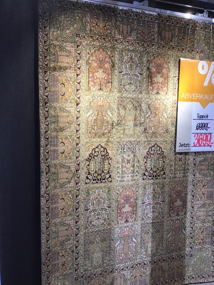 Orientteppich Kashmir Felder Ghom