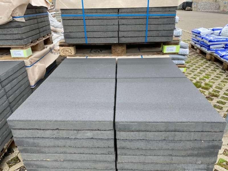 JASTO Gehwegplatten 50x50x5 cm anthrazit (1.Wahl)