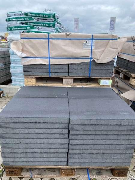 JASTO Gehwegplatten 60x40x5 cm anthrazit (1.Wahl)