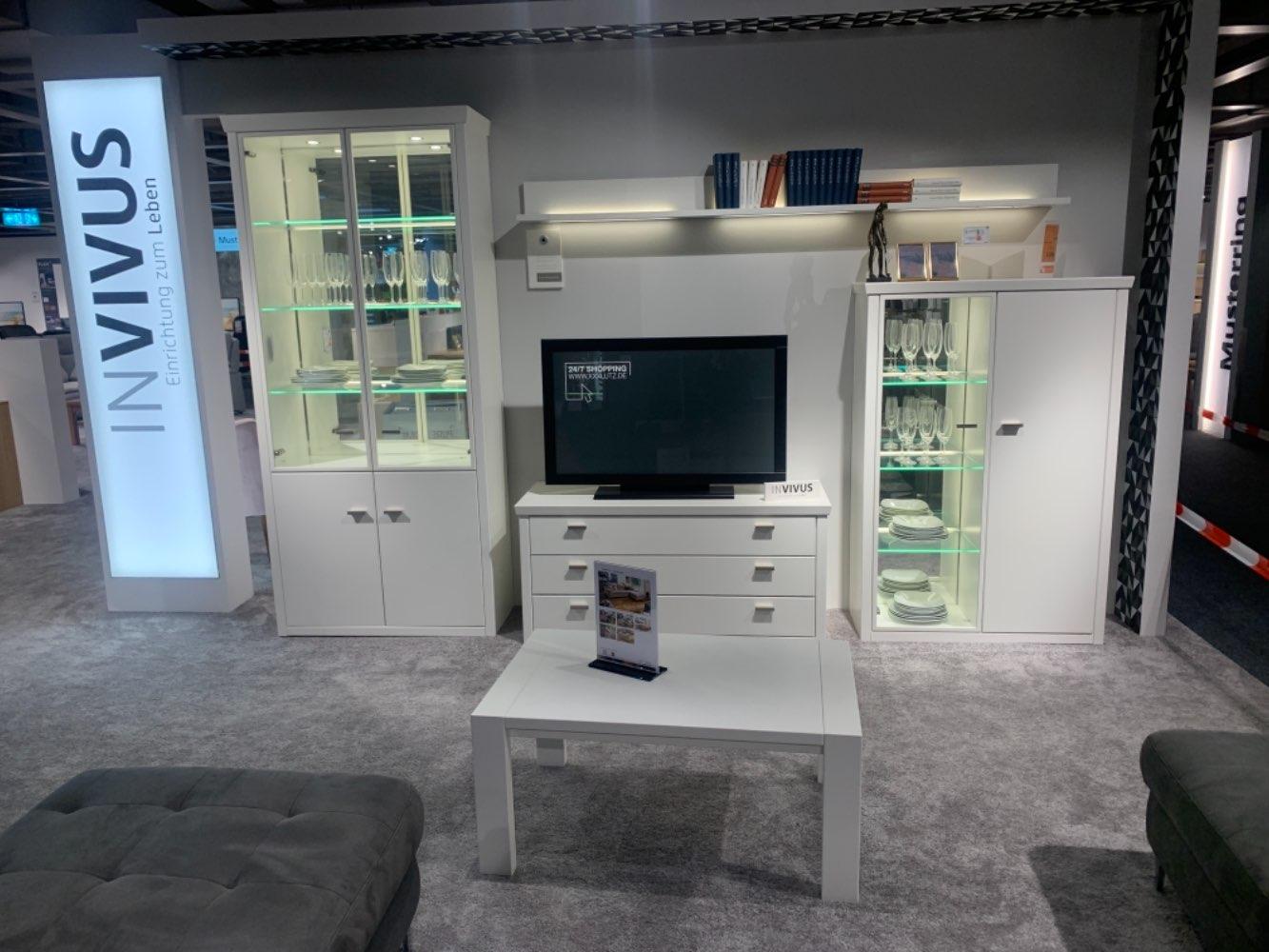 Möbel Wohnwand mit Couchtisch Invivus XXXLutz