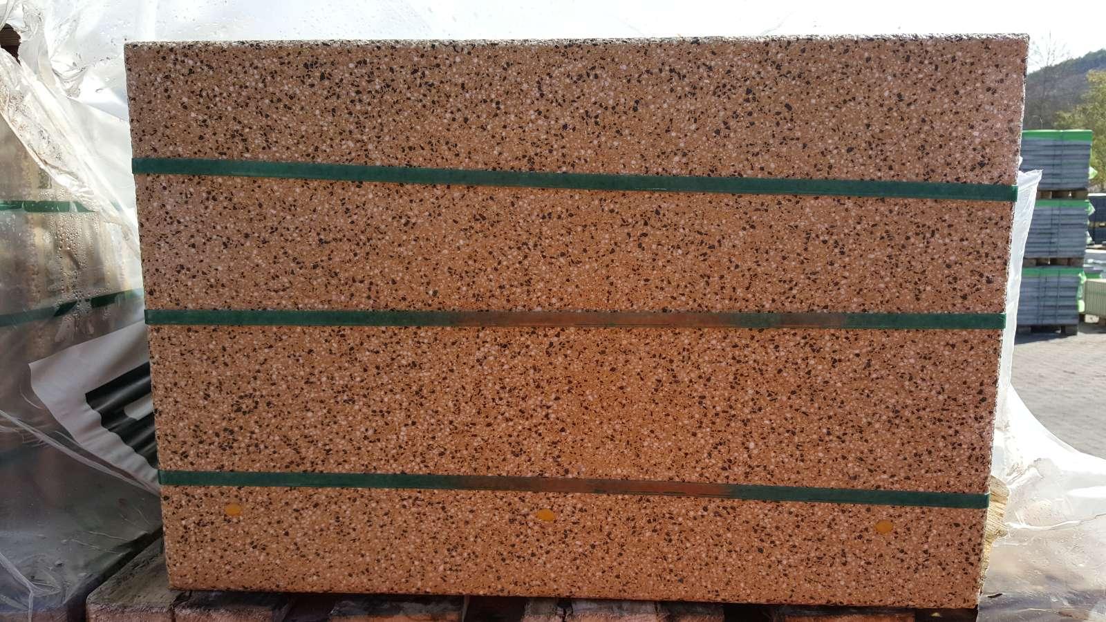Rustic Platte 60/40/5 gelb 2. Wahl