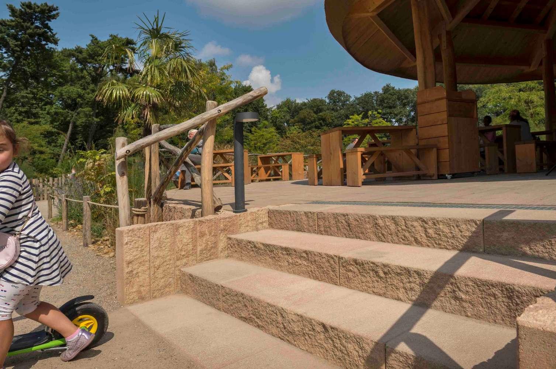 Via Leano End-Palisaden 15x14x90 cm Sandstein (Restposten)