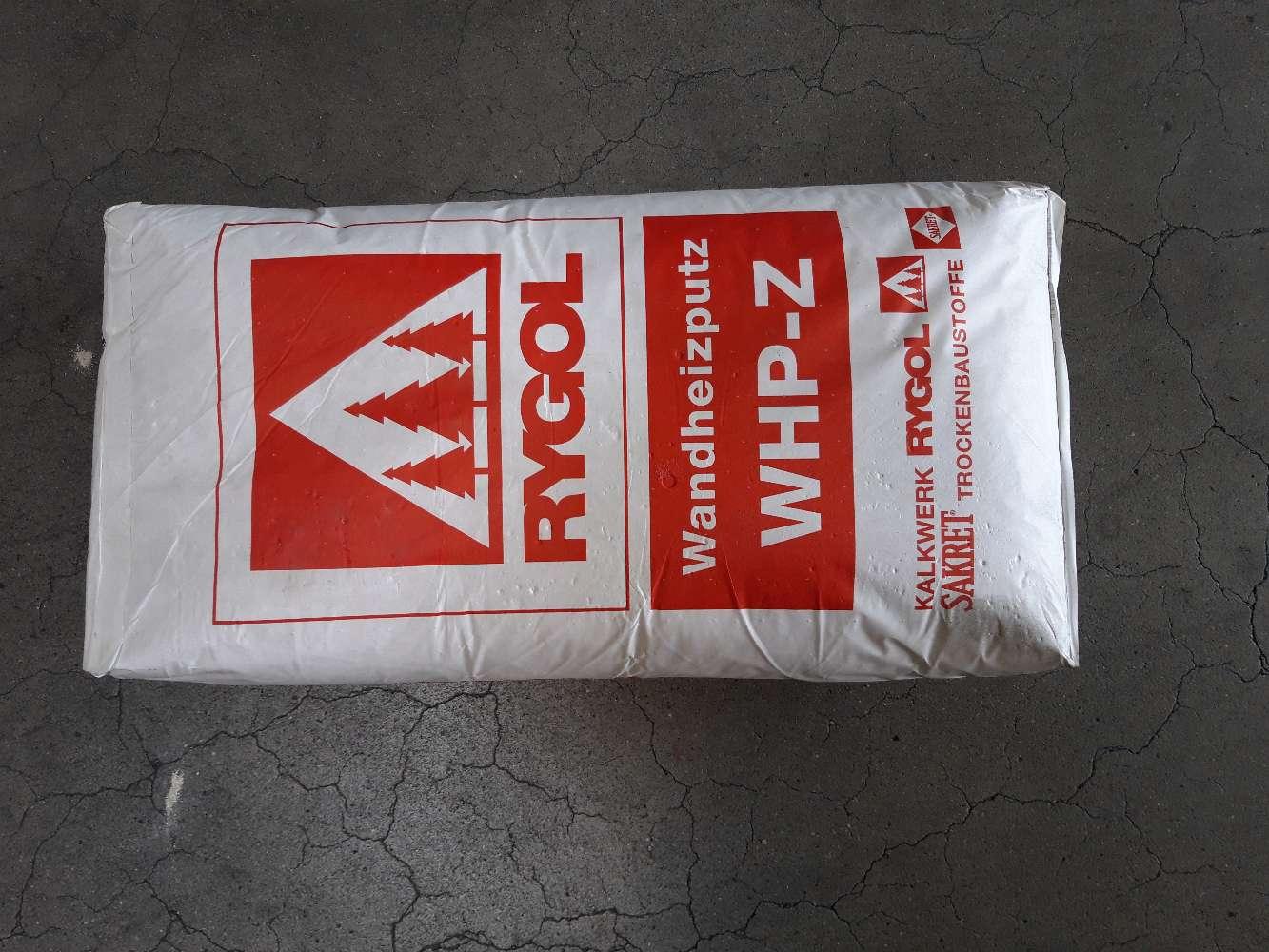 Sakret Wandheitzputz WHP-Z auf Zementbasis