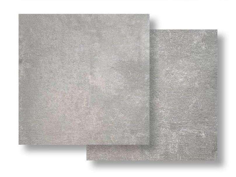 Bodenfliese Feinsteinzeug Wagner Grau, 60x60x2 cm