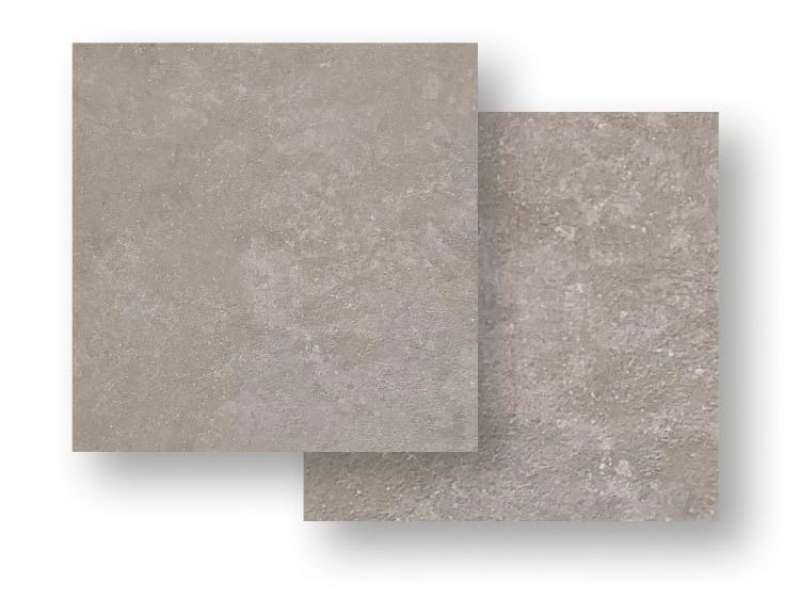 Bodenfliese Heritage Taupe Feinsteinzeug rektifiziert, 60x60x1 cm