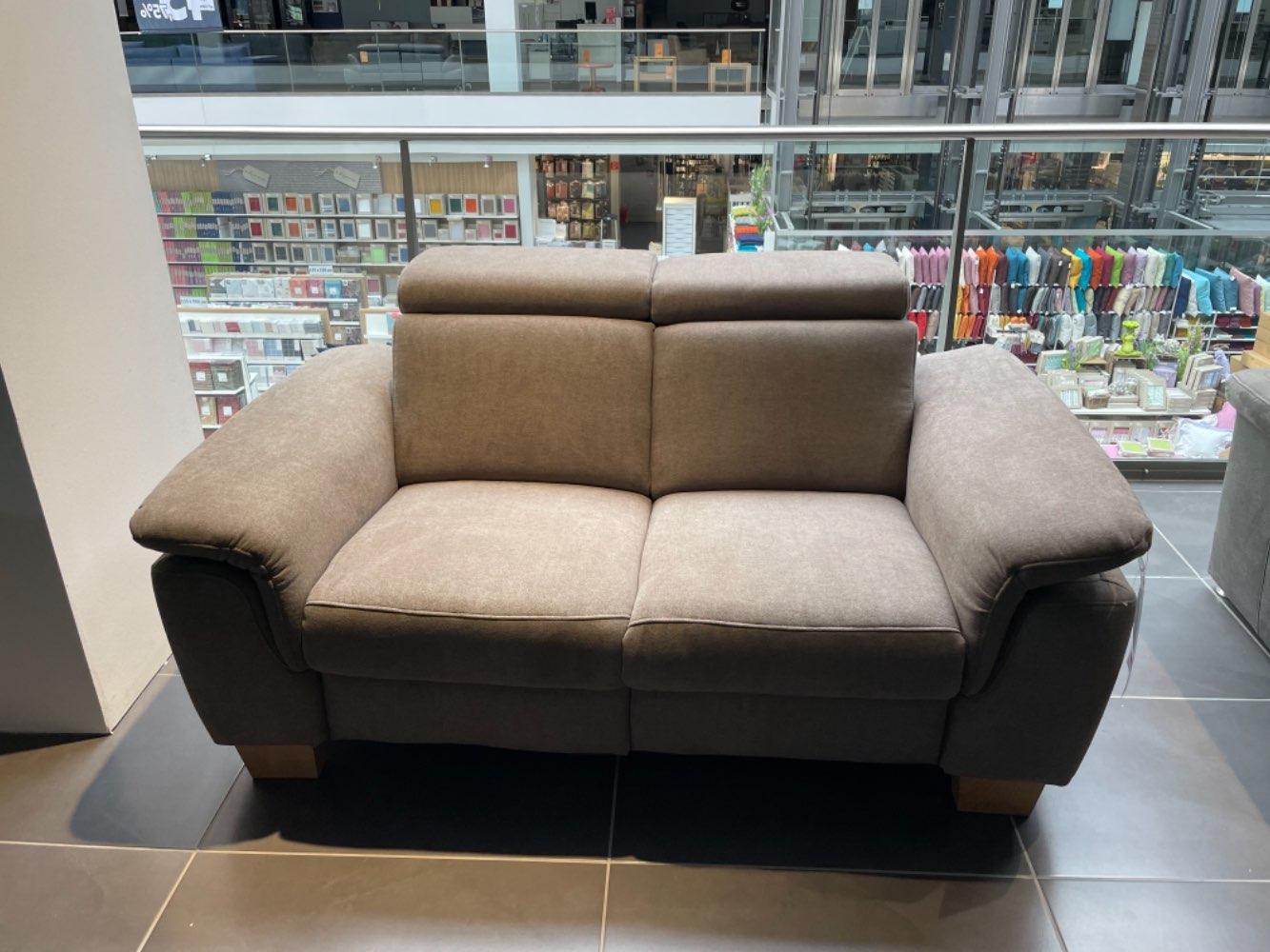 Möbel, Zweisitzer, B/H/T 166x80x90 cm, Hellbraun, XXXL