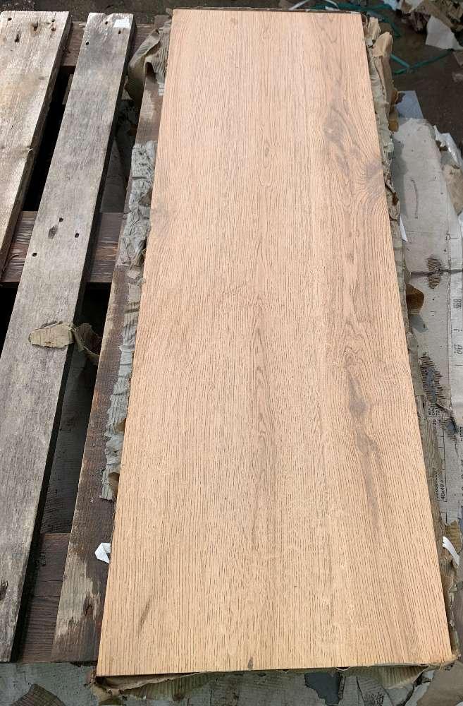 Feinsteinzeug (Keramik) Terrassenplatte 2. Wahl/A-Sort. 120x40x2cm Farbe: Holzoptik