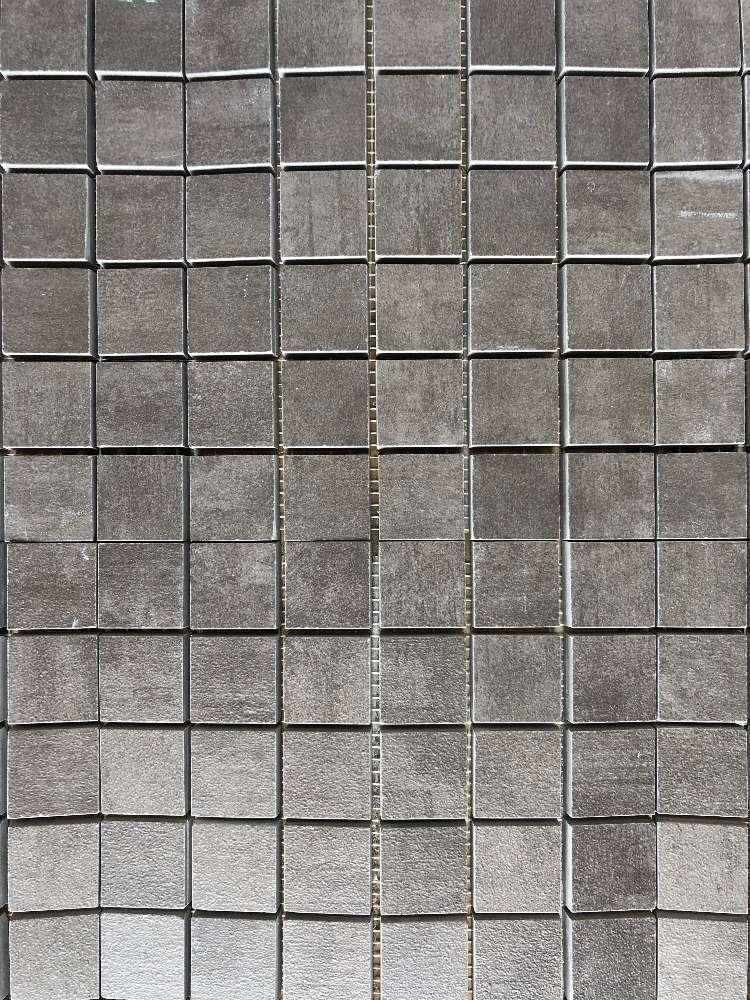 Mosaik Soho Graphit 2,7×2,7cm (Matte 30x30cm)