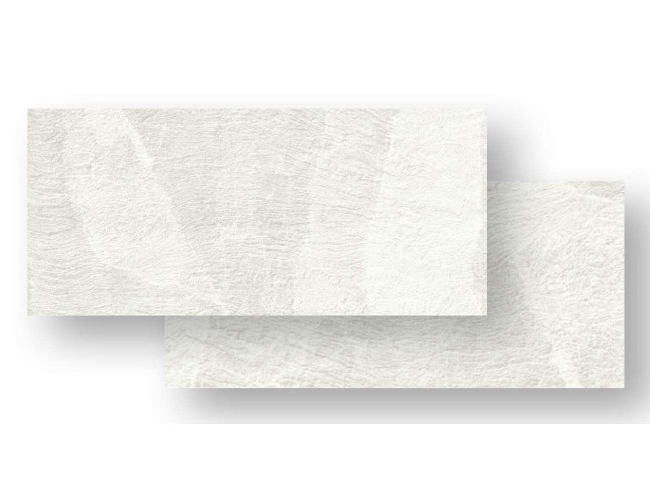 Bodenfliese SLIDE White Feinsteinzeug rektifiziert, 80x40x1 cm
