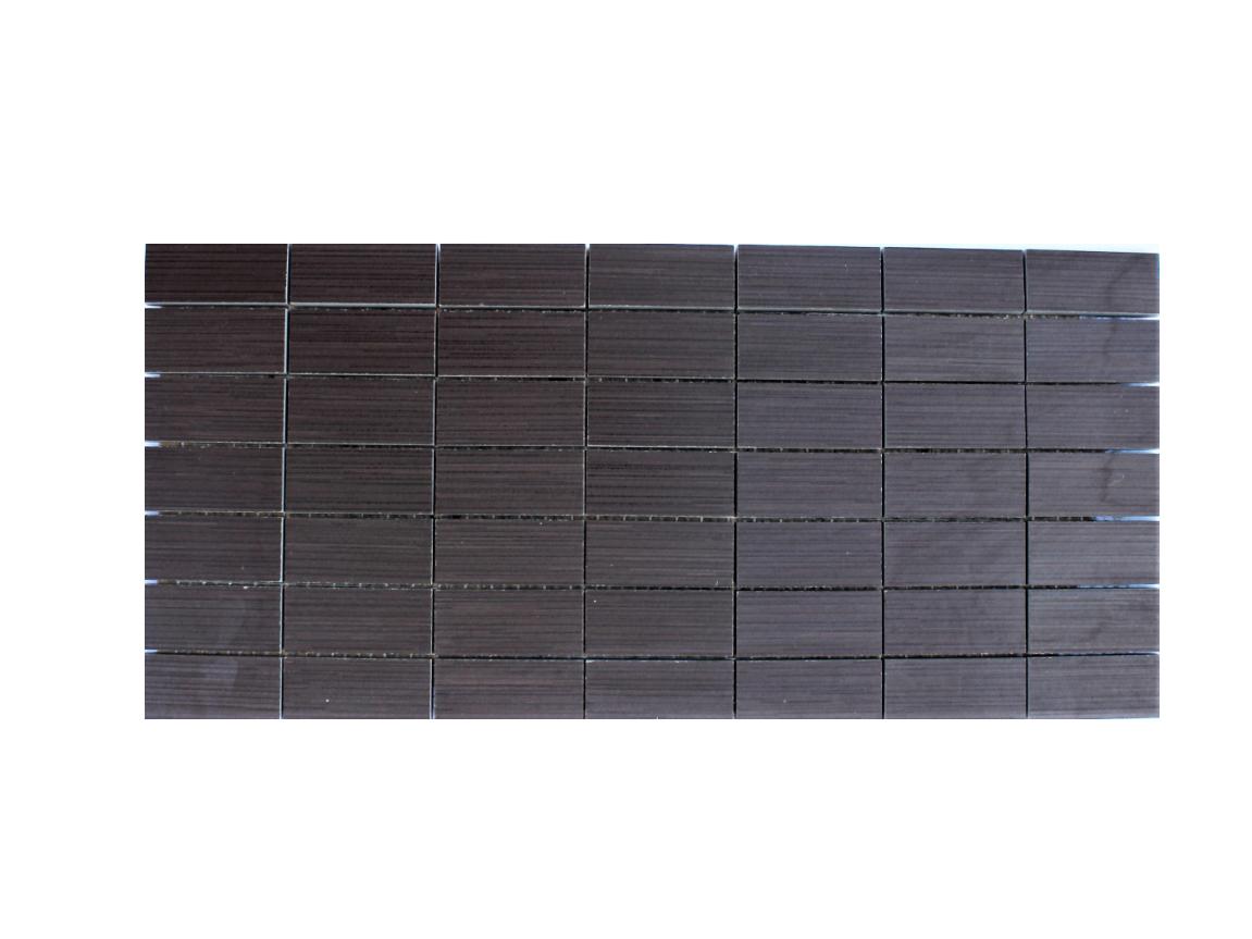 Mosaik Sevensins Chocolate Floor, 20×50 cm