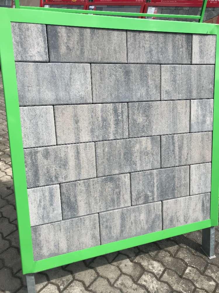Catana Pflaster 20/20/8 oder 40/20/8 cm grau-anthrazit nuanciert