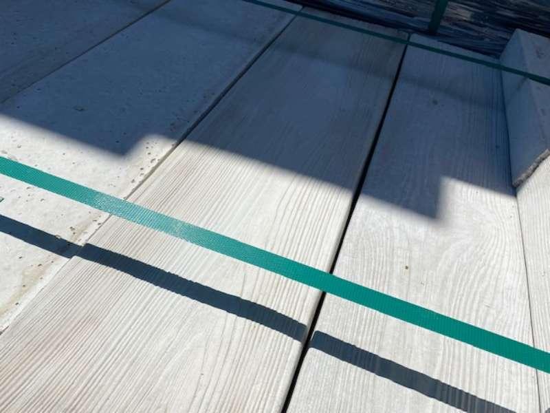 Lignum Terrassenbohle in Holzoptik Weiß, Holzstruktur | 79,5x20x4/5 cm  (2.Wahl)