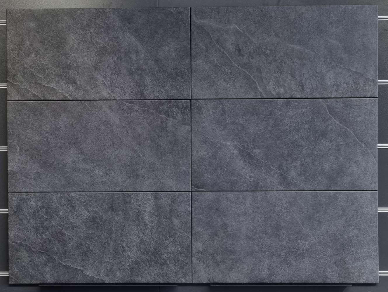 Bodenfliese, Ilbes, grafit, 30x60cm