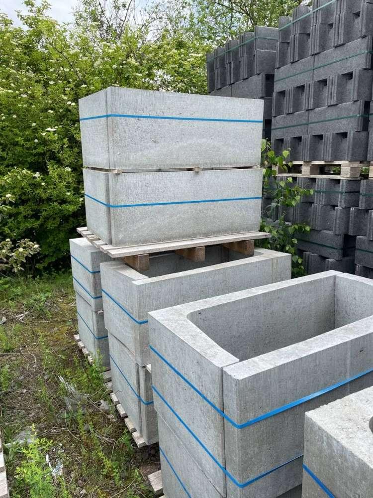 KLB Winkelsteine / L-Steine grau 100/40/7 ( Restposten )