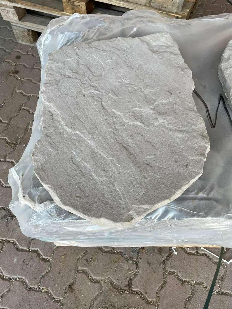 Trittplatte Nativa 56x42x4 cm grau – anthrazit nuanciert