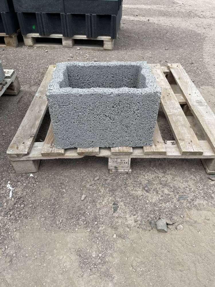 RH Mauersteine 30x40x20 cm grau (2 Wahl)
