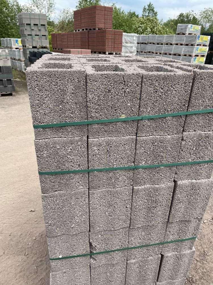 RH- Universalstein 20x30x25 cm grau (2 Wahl)