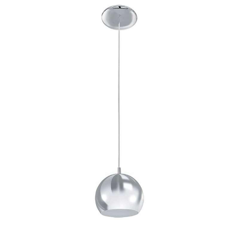 Aussteller LED Hängeleuchte Petto 1 Nickel matt
