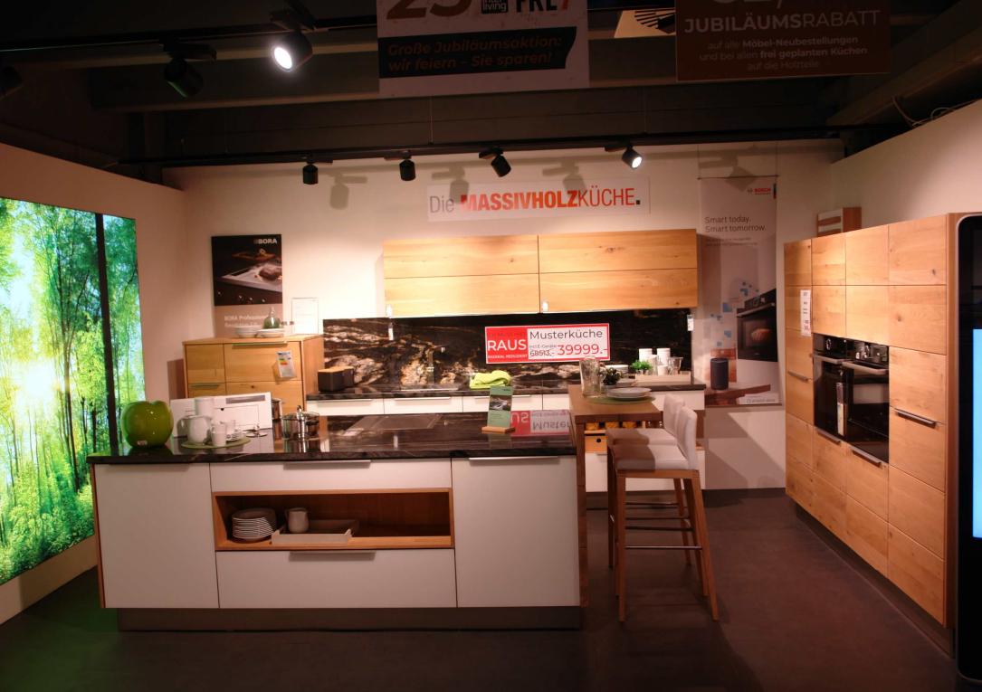 Massivholzküche Calezzo