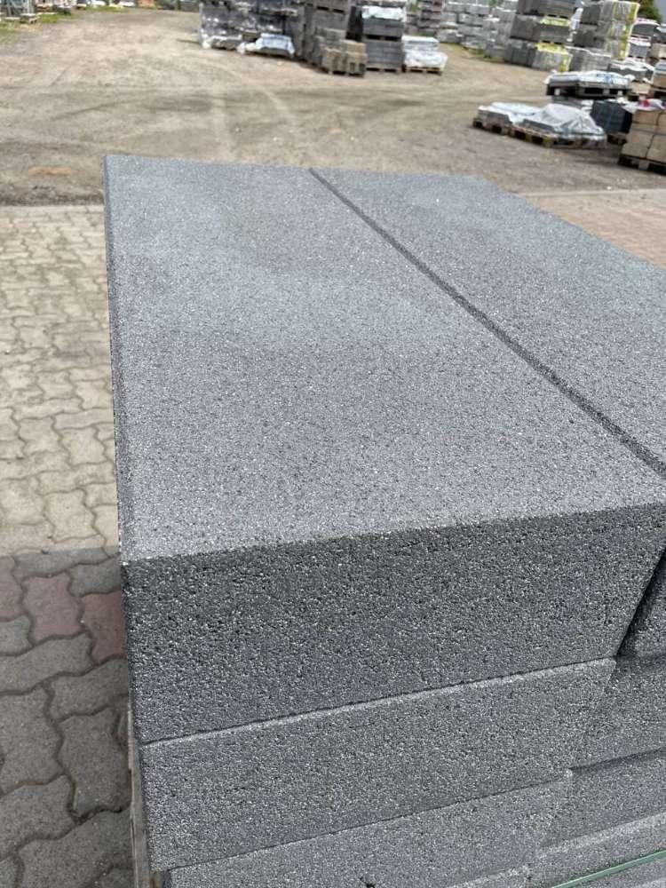 Vios -Stufen 100x35x15 cm anthrazit feingestrahlt (2.Wahl)