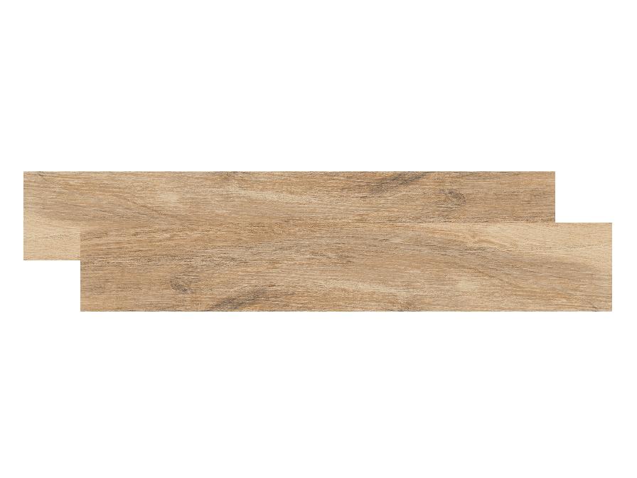 Woodchic natur beige Feinsteinzeug, 19,5x120x1 cm