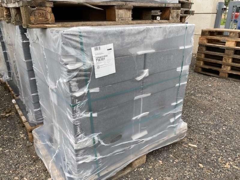 Vios -Stufen 50x35x15 cm anthrazit feingestrahlt (2.Wahl)