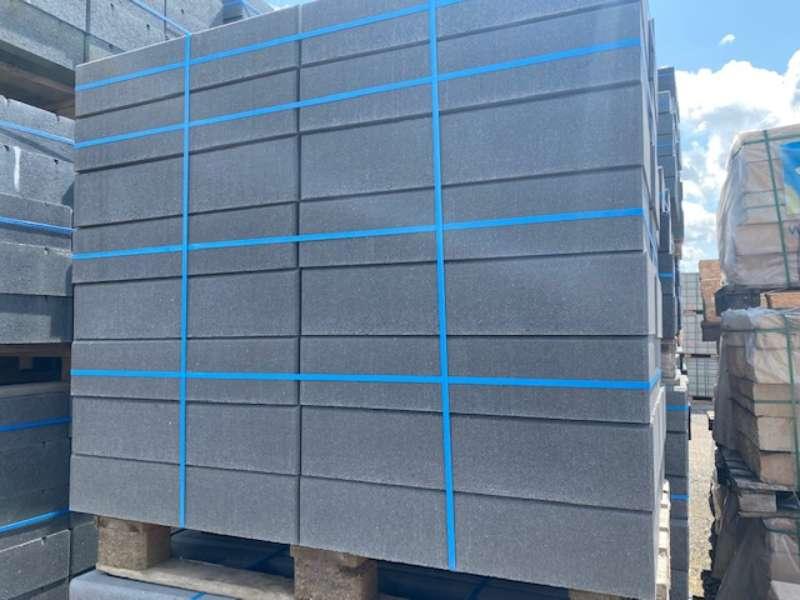 Elegantline Mauer Kristall-anthrazit 60x30x12,5 cm (2.Wahl)