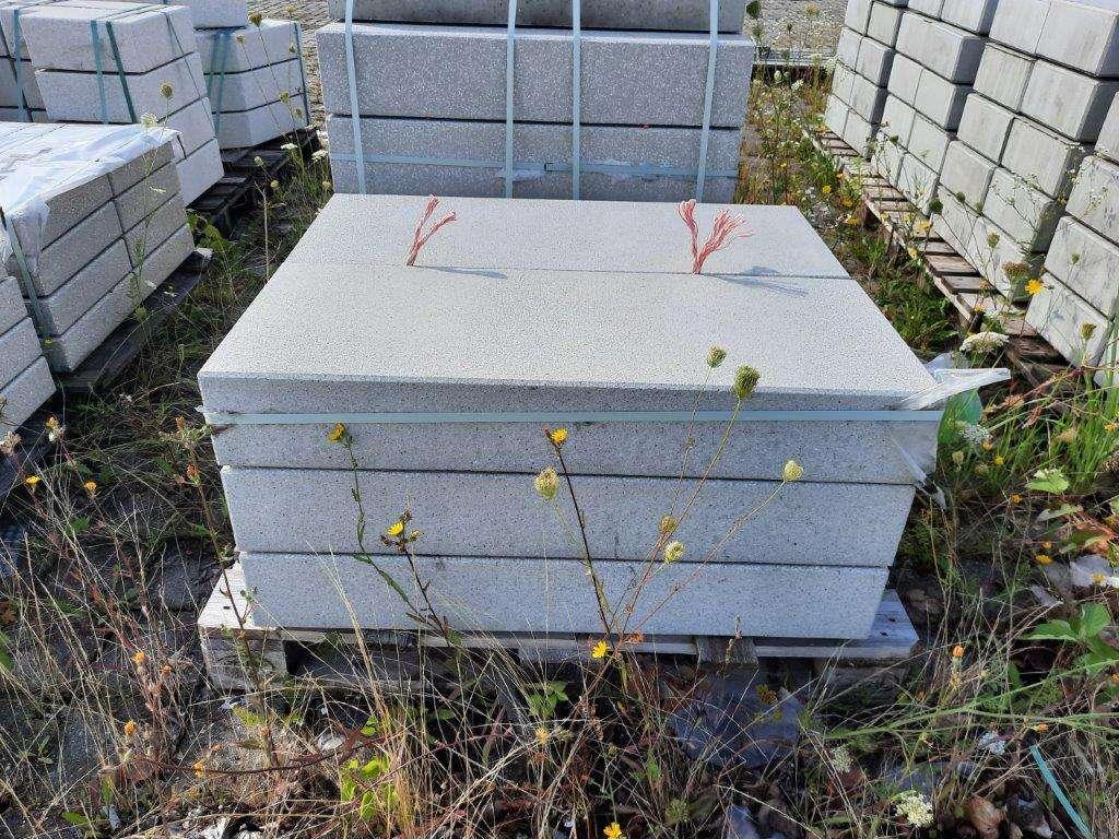 EHL Flair Blockstufe 15/40/100 cm grau kugelgestrahlt 2. Wahl