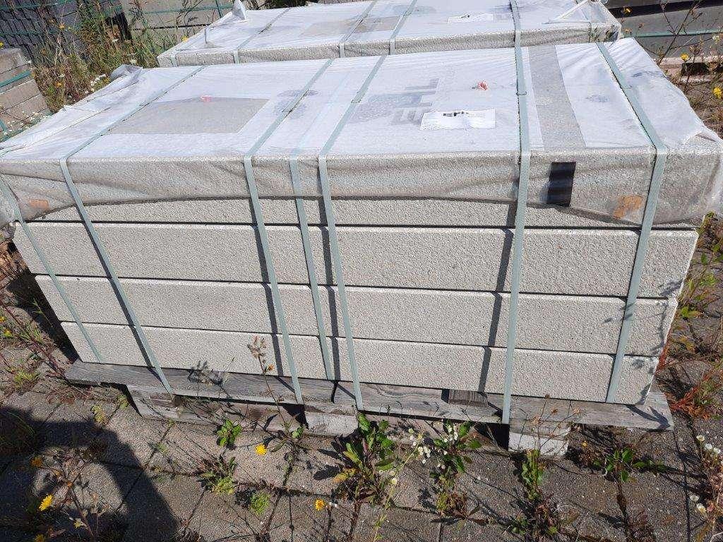EHL Sichtbeton-Blockstufe 15/35/150 cm grau gestrahlt 2. Wahl