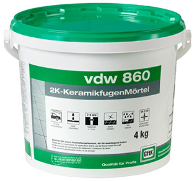VDW – 860 Keramikfugenmörtel / Fugenmörtel / GftK