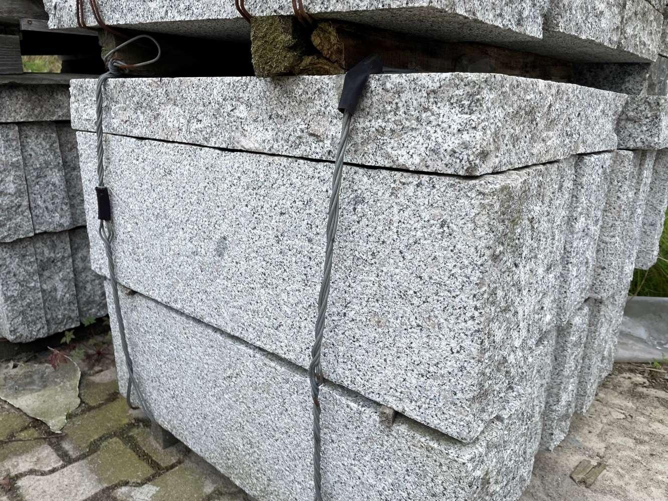Stele Grau (G341) 75x25x8cm