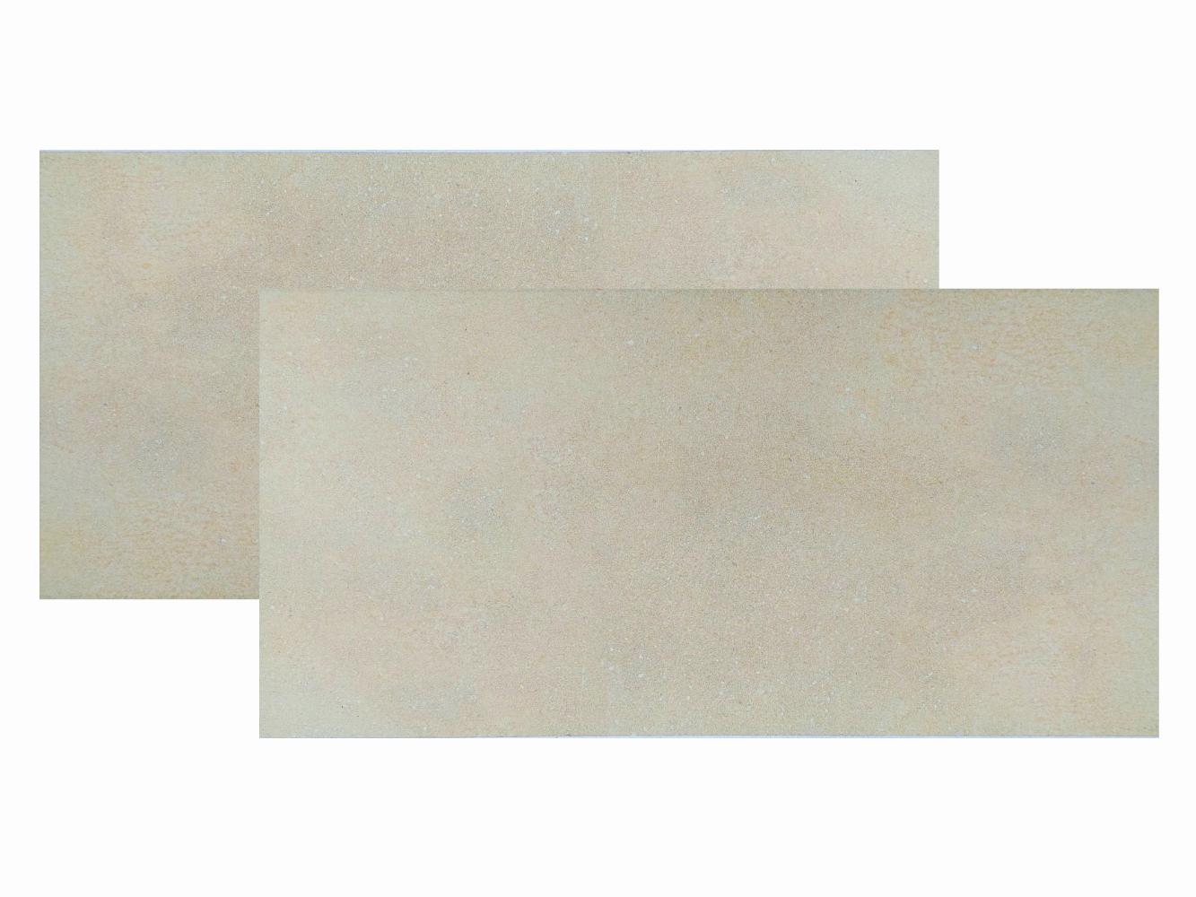 Terrassenfliese Madrid Beige 3 Feinsteinzeug, 39x78x2 cm